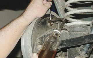 Замена тормозной жидкости на ваз 2110, ваз 2111, ваз 2112