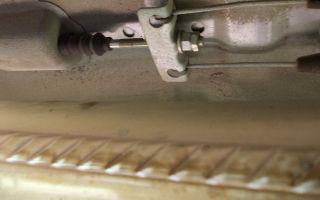 Регулировка троса ручника на калине