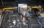 Замена масла в двигателе на приоре