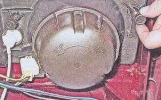 Замена лампочки в повторителе на ваз 2101-ваз 2107