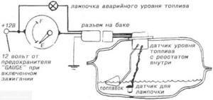 Замена датчика уровня топлива и его проверка на ВАЗ 2110, ВАЗ 2111, ВАЗ 2112