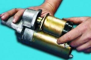 Ремонт стартера на ВАЗ 2110, ВАЗ 2111, ВАЗ 2112