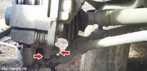 Замена передней ступицы на ВАЗ 2108, ВАЗ 2109, ВАЗ 21099