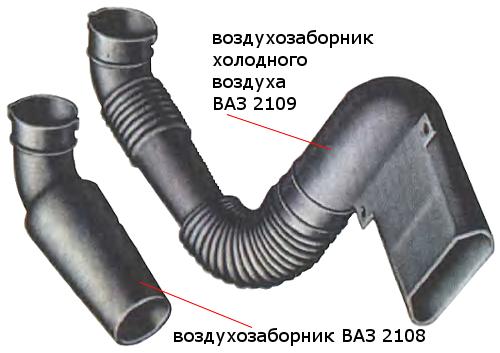 Замена воздушного фильтра на карбюраторных ВАЗ 2108, ВАЗ 2109, ВАЗ 21099