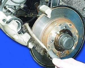 Замена передних тормозных колодок на ВАЗ 2108, ВАЗ 2109, ВАЗ 21099