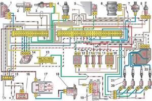 Замена датчика положения дроссельной заслонки на ВАЗ 2108, ВАЗ 2109, ВАЗ 21099