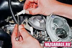 Регулировка холостого хода на ВАЗ 2101-ВАЗ 2107