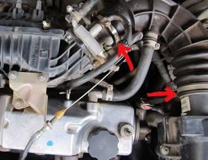 Чистка дроссельной заслонки на ВАЗ 2113, ВАЗ 2114, ВАЗ 2115