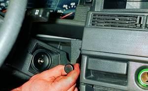 Замена блока иммобилайзера на ВАЗ 2108, ВАЗ 2109, ВАЗ 21099