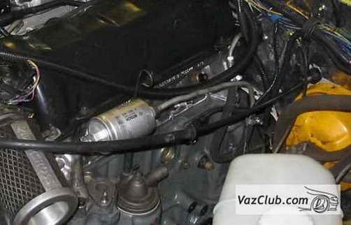 Замена адсорбера на ВАЗ 2104, ВАЗ 2105, ВАЗ 2107