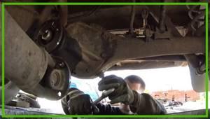 Замена сальника редуктора заднего моста на ВАЗ 2101-ВАЗ 2107