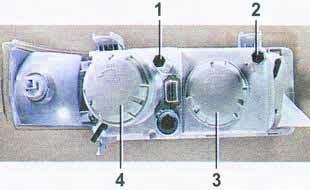 Регулировка фар на ВАЗ 2110, ВАЗ 2111, ВАЗ 2112