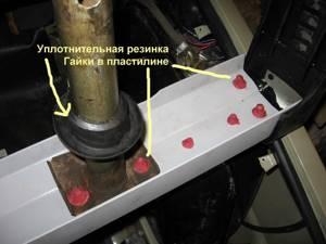 Замена заднего бампера на ВАЗ 2106