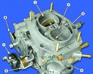 Замена топливного фильтра карбюратора на ВАЗ 2108, ВАЗ 2109, ВАЗ 21099