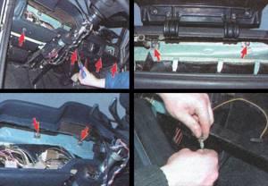 Замена приборов панели на ВАЗ 2103, ВАЗ 2106