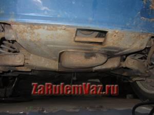 Замена защиты картера на ВАЗ 2101-ВАЗ 2107