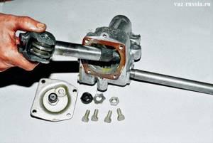 Замена рулевого редуктора на ВАЗ 2104, ВАЗ 2105, ВАЗ 2107
