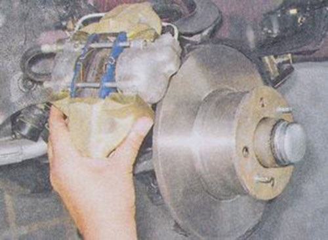 Замена переднего тормозного диска на ВАЗ 2101-ВАЗ 2107