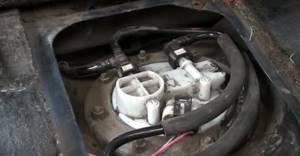 Замена топливного фильтра на инжекторных ВАЗ 2108, ВАЗ 2109, ВАЗ 21099