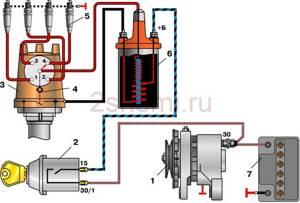 Замена катушки и модуля зажигания на ВАЗ 2101-ВАЗ 2107