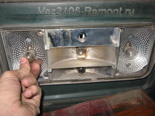 Замена задних фар на ВАЗ 2106