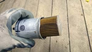 Замена топливного фильтра на калине
