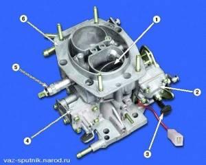 Замена диафрагмы экономайзера мощностных режимов на ВАЗ 2108, ВАЗ 2109, ВАЗ 21099