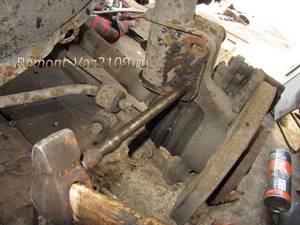 Ремонт передней стойки на ВАЗ 2108, ВАЗ 2109, ВАЗ 21099