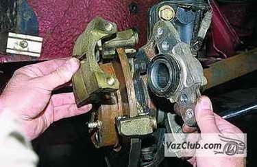Замена тормозных дисков на ВАЗ 2113, ВАЗ 2114, ВАЗ 2115