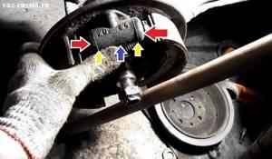 Замена задних тормозных цилиндров на ВАЗ 2108, ВАЗ 2109, ВАЗ 21099
