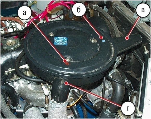 Замена корпуса воздушного фильтра на ВАЗ 2101-ВАЗ 2107