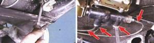 Замена регулятора давления тормозов на ВАЗ 2108, ВАЗ 2109, ВАЗ 21099