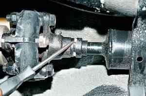 Замена крестовин кардана на ВАЗ 2101-ВАЗ 2107