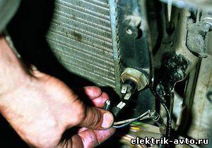 Замена датчика включения вентилятора на ВАЗ 2108, ВАЗ 2109, ВАЗ 21099