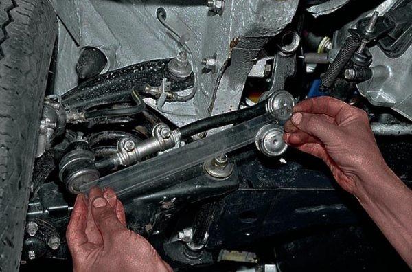 Замена рулевых тяг на ВАЗ 2101-ВАЗ 2107