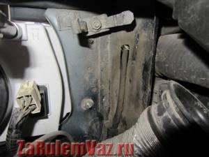Замена передней фары на ВАЗ 2113, ВАЗ 2114, ВАЗ 2115