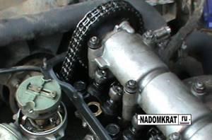 Проверка натяжения цепи на ВАЗ 2101-ВАЗ 2107