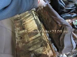 Замена замков заднего сиденья на ВАЗ 2108, ВАЗ 2109, ВАЗ 21099
