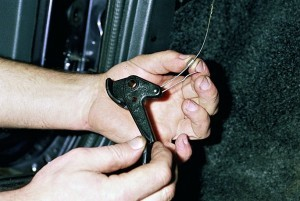 Замена замка капота на ВАЗ 2108, ВАЗ 2109, ВАЗ 21099