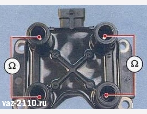 Замена модуля зажигания на ВАЗ 2110, ВАЗ 2111, ВАЗ 2112