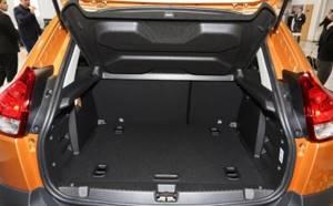 Сколько литров и какой объем багажника у Лада Х Рей Кросс