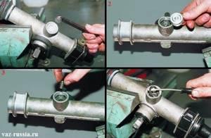 Ремонт рулевой рейки на ВАЗ 2113, ВАЗ 2114, ВАЗ 2115