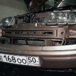Замена переднего бампера на ВАЗ 2110, ВАЗ 2111, ВАЗ 2112