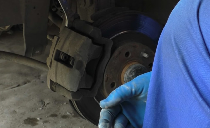 Замена тормозного диска на приоре