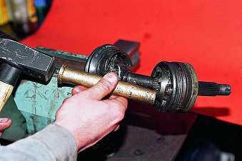 Замена наружного и внутреннего ШРУСа на ВАЗ 2110, ВАЗ 2111, ВАЗ 2112