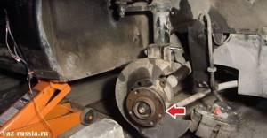 Замена поворотного кулака на ВАЗ 2108, ВАЗ 2109, ВАЗ 21099