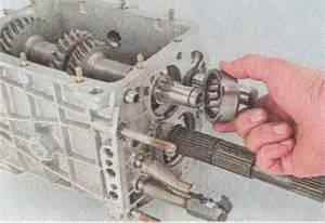 Проверка деталей коробки передач на износ на ВАЗ 2101-ВАЗ 2107