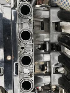Замена впускного коллектора на приорe