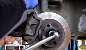 Замена подшипника передней ступицы на ВАЗ 2110, ВАЗ 2111, ВАЗ 2112