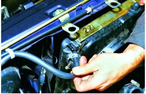 Замена радиатора охлаждения на ВАЗ 2113, ВАЗ 2114, ВАЗ 2115